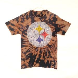 Pittsburg Steelers custom dyed tshirt